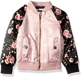 featured product Limited Too Girls' Little Bomber Jacket with Floral Print