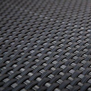 comprar comparacion Protector visual de ratán de polietileno para terrazas, color antracita, 0,9 m de ancho, venta por metro