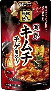 モランボン キムチチゲ用スープ あとひく辛口 750g×10袋