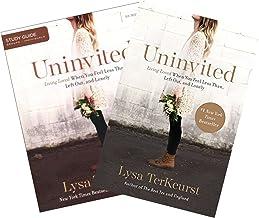 Lysa Terkeurst - Uninvited Study Set (Book + Study Guide)