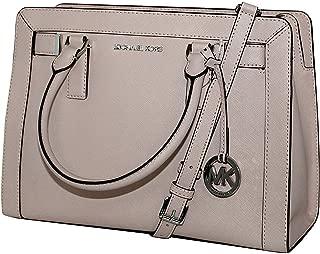 MICHAEL Michael Kors Women's Dillon Shoulder Bag Medium Leather Satchel Handbag