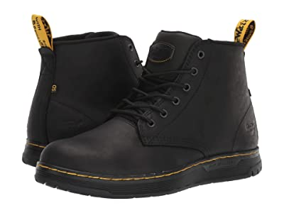 Dr. Martens Work Ledger Steel Toe SD (Black/Black/Black/Black) Men