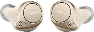 Jabra Elite 75t Earbuds – True Wireless Earbuds with Charging Case, Gold Beige – Active Noise Cancelling Bluetooth Earbuds...