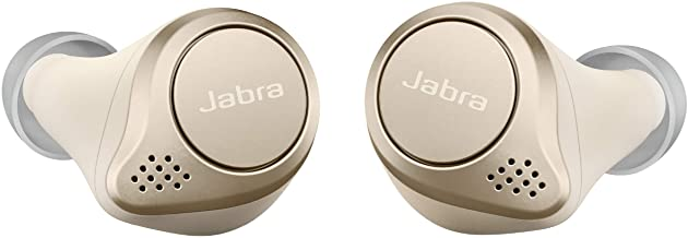 Jabra Elite 75t Earbuds – Alexa Enabled, True Wireless Earbuds with Charging Case, Gold Beige – Noise Cancelling Bluetooth...