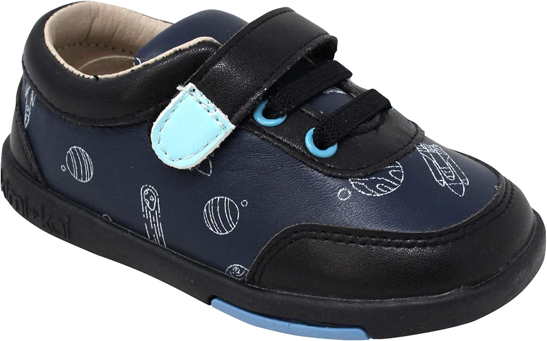 Kimi + Kai Boys Raleigh Mall First Walker Sn Spaceship Colton Leather Max 40% OFF Toddler