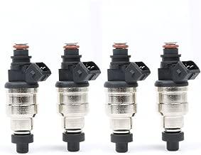 MOSTPLUS 500cc Fuel Injectors for RX-7 EVO 5 6 7 8 9 FC3S 13B 20B 4AGE 4G63T W/ EV1 Clip (Set of 4)