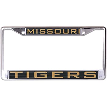 University of S02632 LIC PLT Frame S//L Metallic WinCraft Missouri