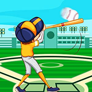 Homer Run City - Baseball Hit Game