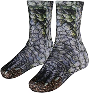 D DOLITY, Calcetines de Animal Impreso 3D Patea Adultos Unisex Transpirable Ultrafino Señora Summer Ankle