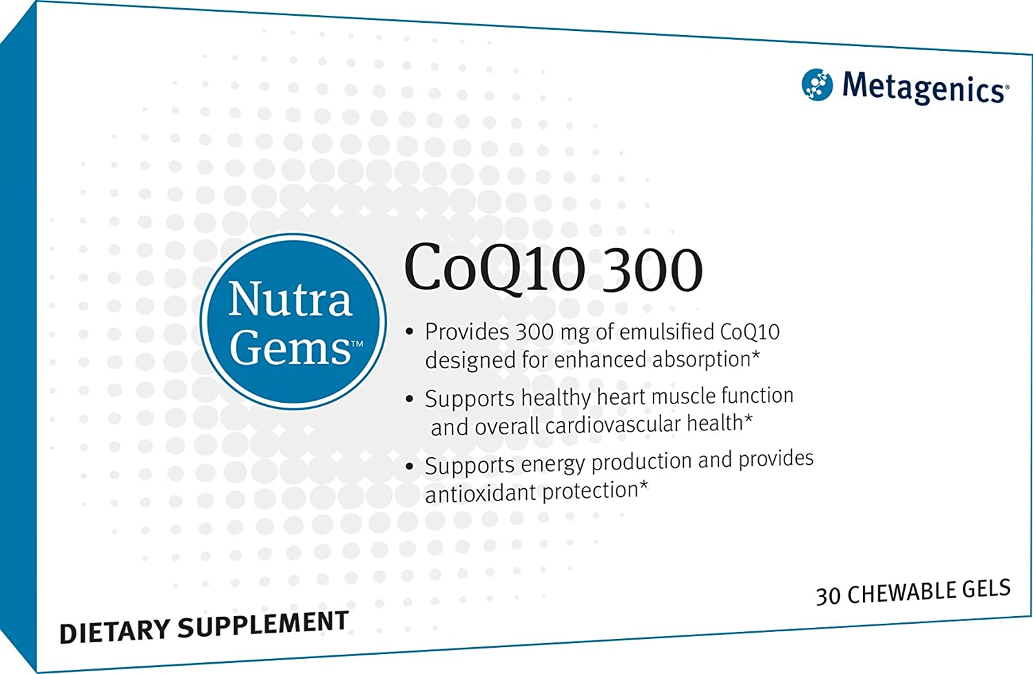 Metagenics NutraGems® CoQ10 Max 52% cheap OFF 300 Coen Highly – Absorbable
