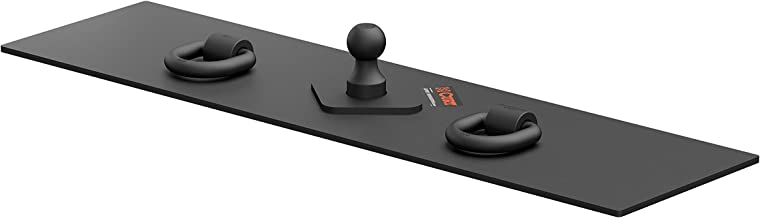 CURT 65500 Over-Bed Flat Plate Gooseneck Hitch, 30,000 lbs., 2-5/16-Inch Ball