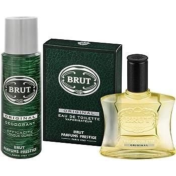 Brut EDT Eau De Toilette 100ml + Brut Original Deodorant 200 ml Für den Mann