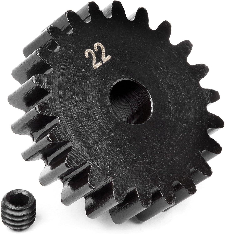 HPI 100921 Pinion Gear 22T 1M 5mm Shaft SVG Flx, 100921