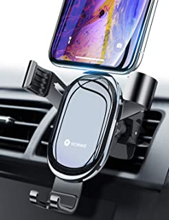 Galaxy S9 S8 S7 Edge Riaour Universal Air Vent Magnetic Phone Car Mounts Holder for iPhone Xs Max XR X 8 7 Plus 6S 6 SE Magnetic Phone Car Mount Note 8 5,Google Pixel Compatible Most Case LG G6