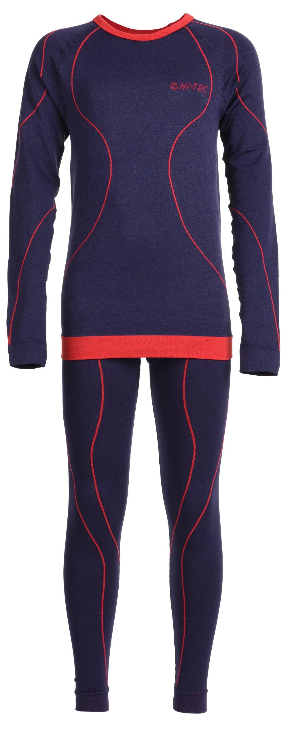 HI-TEC Kinder Underwear/set Ibar Set, Patriot blue/Racing, 146, 68928