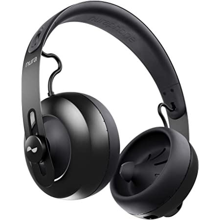 NuraPhone ヘッドホン Bluetooth ワイヤレス aptX™-HD 自動パーソナライズ機能付き 20時間連続再生 有線対応