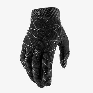 100% Volwassenen Ridefit handschoenen (Zwart Wit, S)