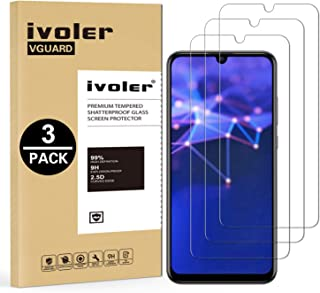 VGUARD [Pack de 3] Verre Trempé pour Honor 20 Lite/Honor 10 Lite/Huawei P Smart Plus 2019 / Huawei P Smart 2019 / Huawei P Smart+ 2019, Film Protection écran en Verre trempé [Garantie à Vie]