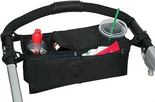 سلة/ حقيبة تخزين وتنظيم الاغراض والزجاجات تعلق على عربة الطفل متعدد الوظائف - اكسسوارات وقطع ملحقة