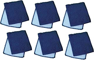 """Janey Lynn Designs Out of The Blue Shrubbies 5"""" x 6"""" Cotton & Nylon Cloth Pack of 6"""