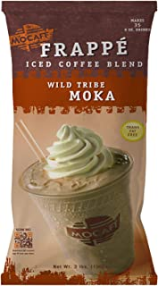 MOCAFE Frappe Wild Tribe Moka Ice Blended Coffee, 3-Pound Bag Instant Frappe Mix, Coffee House Style Blended Drink Used in Coffee Shops
