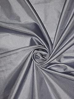 Puresilks Mary Ann Plain Fabric Greyish Blue 44
