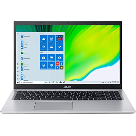 Acer Aspire 5 Intel Core i3 11th Generation 15.6 inches Business Notebook Computer (4 GB/256 GB SSD/MS Office 2019/Windows 10 Home/UHD Graphics/1.65Kg/Silver) A515-56