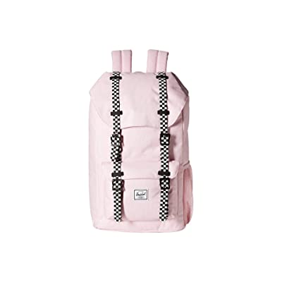 Herschel Supply Co. Kids Little America (Youth) (Pink Lady Crosshatch/Checkerboard) Backpack Bags