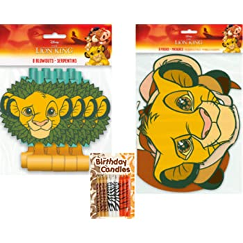 Lion Guard King Simba Disney Cups Party Decoration 24 Pieces Favors DreamPartyWorld