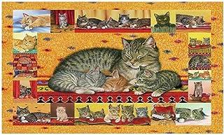 JCCOZ-URG Cute Cat Puzzle Mom Love - 520/1000/1500 Piece Jigsaw Wooden Educational Toys for Children (Size : 1000pcs) JCCO...