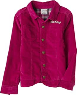 Carhartt Little Girls ' Washed Uncutコーデュロイジャケット