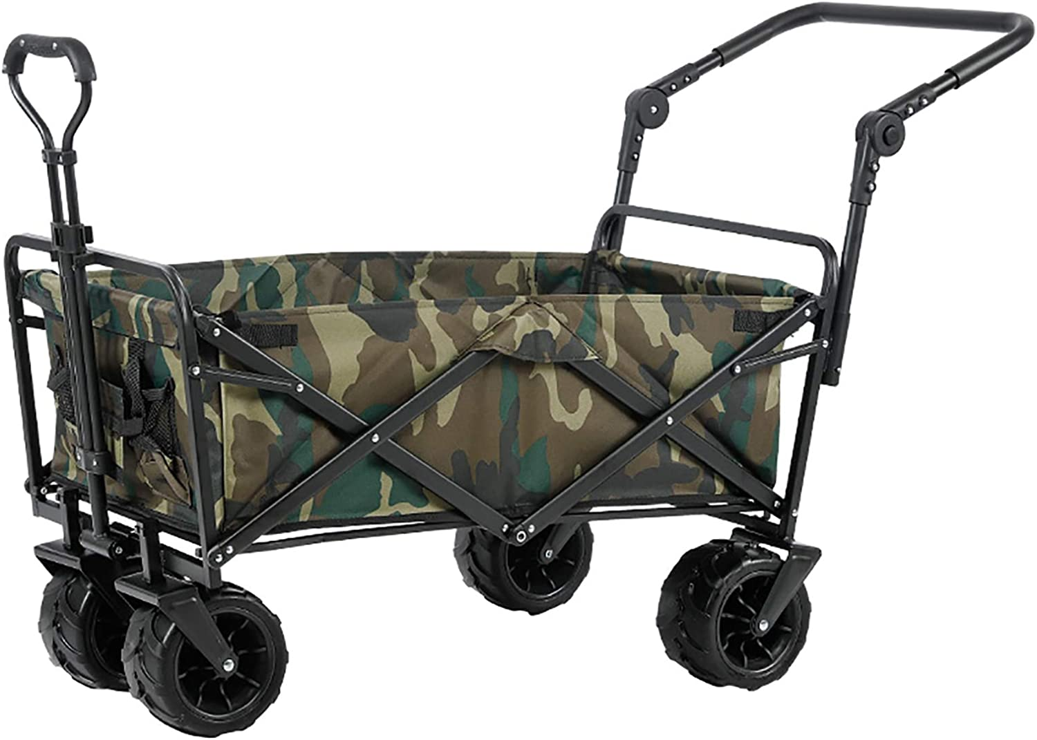 Collapsible Folding Utility Wagon SEAL limited product Handwagon Gard Brand Cheap Sale Venue Outdoor