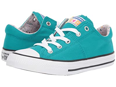 Converse Kids Chuck Taylor(r) All Star(r) Madison (Little Kid/Big Kid) (Turbo Green/White/Barely Rose) Girl