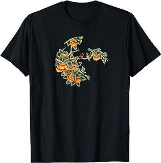 Japanese Art Birds on Tree Blossom T-Shirt