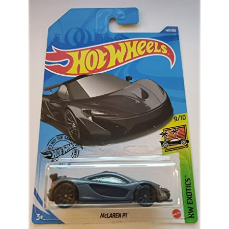 Hot Wheels 2020 Hw Exotics McLaren P1 Gray 149//250
