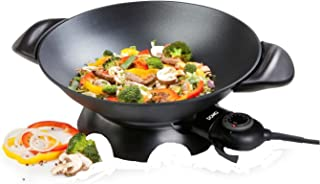 Domo DO-8708W Wok 5 L, 5 liters, Noir