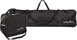 Best Two-Piece Snowboard and Boot Bag Combo   Store & Transport Snowboard Up to 165 cm and Boots Up to Size 13   Includes 1 Snowboard Bag & 1 Boot Bag (Black) Reviews