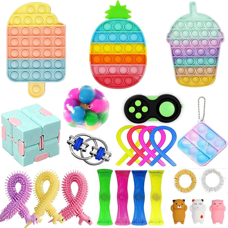LOPJGH Ranking TOP16 Sensory Our shop most popular Fidget Packs Toy Set Cheap Anti Pack Toys