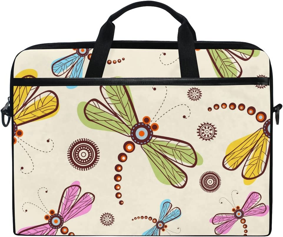 JSTEL cheap Dragonfly Laptop Shoulder Messenger Now free shipping Case Bag Sleeve for 14