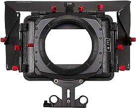 FILMCITY MB-600 Power Camera Sunshade Matte Box, Compatible to 15mm Rail System