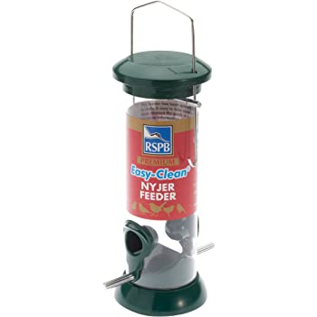 """Supa Niger Seed 4 Port Feeder 8"""" with Tray: Amazon.co.uk: Pet Supplies"""