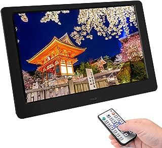 Tenswall デジタルフォトフレーム 10.1インチ 1280 * 800高解像度 IPS広視野角 液晶 写真10倍まで拡大可能/90°~360°回転可能/USBメモリー/SDカードは32GBまで対応/写真音楽動画再生/カレンダー/アラーム/自動オンオフ/タイマー/USB/SDカード対応 リモコン付き 良いギフト 日本語取扱説明書
