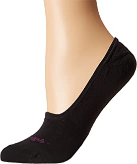 Top Down Solid No Show Light Socks