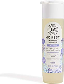 Honest Shampoo & Body Wash, Ultra Calming Dreamy Lavender