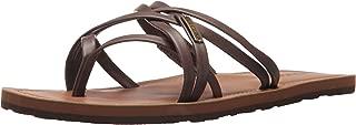 Volcom Women's Happy Multi Strap Fashion Sandal Flat