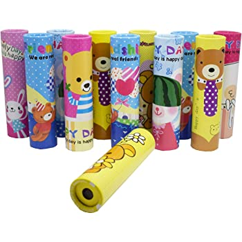 Parteet Birthday Party Return Gifts - Pack of 12 Pcs Fun Magic Kaleidoscopes - Children Educational Science Toy
