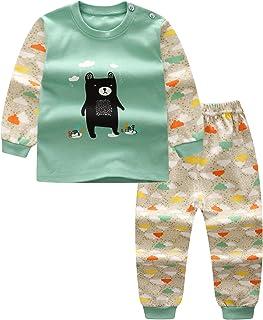 MOMBEBE COSLAND Pigiama Bambino Ragazze Inverno Bambina Abbigliamento Set Manica Lunga