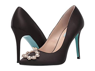 Blue by Betsey Johnson Reign Pump (Black) Women