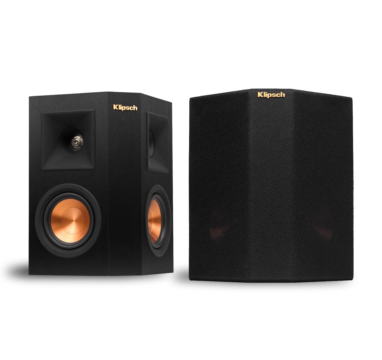 Black Floorstanding Speakers Recoton W440 Wireless Speaker System