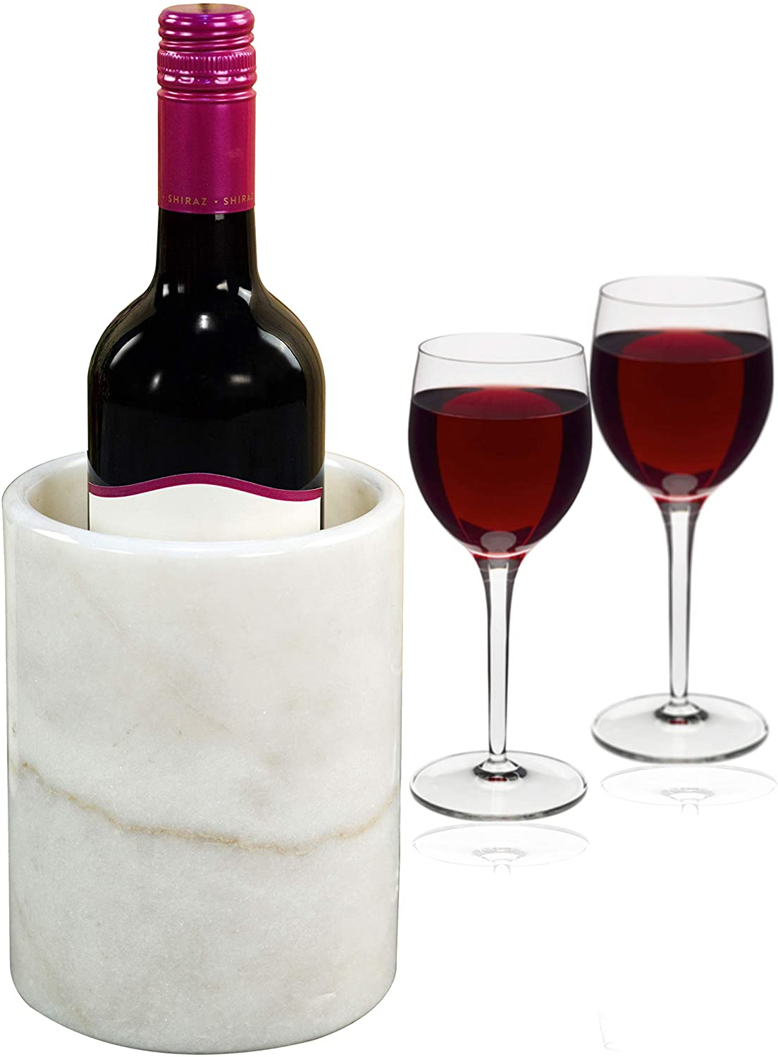 Limited price Wine Chiller White Table Top for C Marble Chillers 5 ☆ very popular Handmade